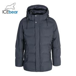 ICEbear 2019 Winter Men's Clothing Warm Male Jacket High Quality Men's Parkas MWD19941I