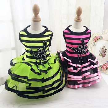 Classic Princess Dog Dresses Summer Small Dog Clothes Ropa Perro Chihuahua Tulle Skirt Cute Puppy Dress Yorkshire Pet Clothes
