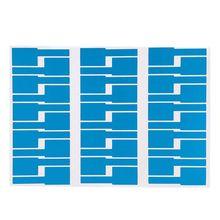 30 шт. Кабельные Этикетки Стикер Водонепроницаемый идентификационные бирки работа с лазерным принтером