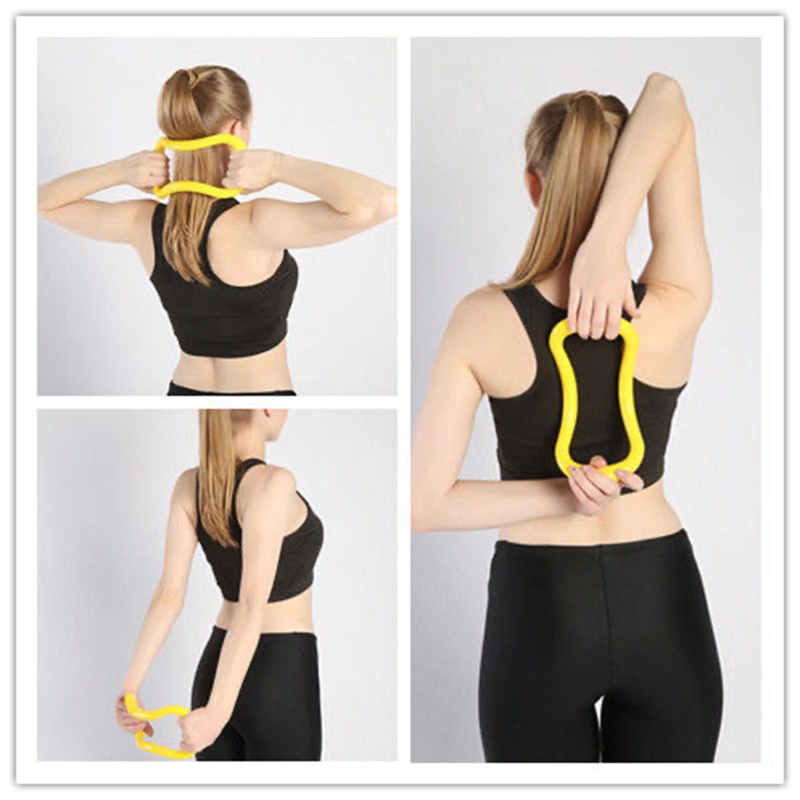Yoga Circle Yoga Stretchdline Ring Home Women Fitness Equipment Fascia Massage Workout Pilates Bodybuilding Exercise
