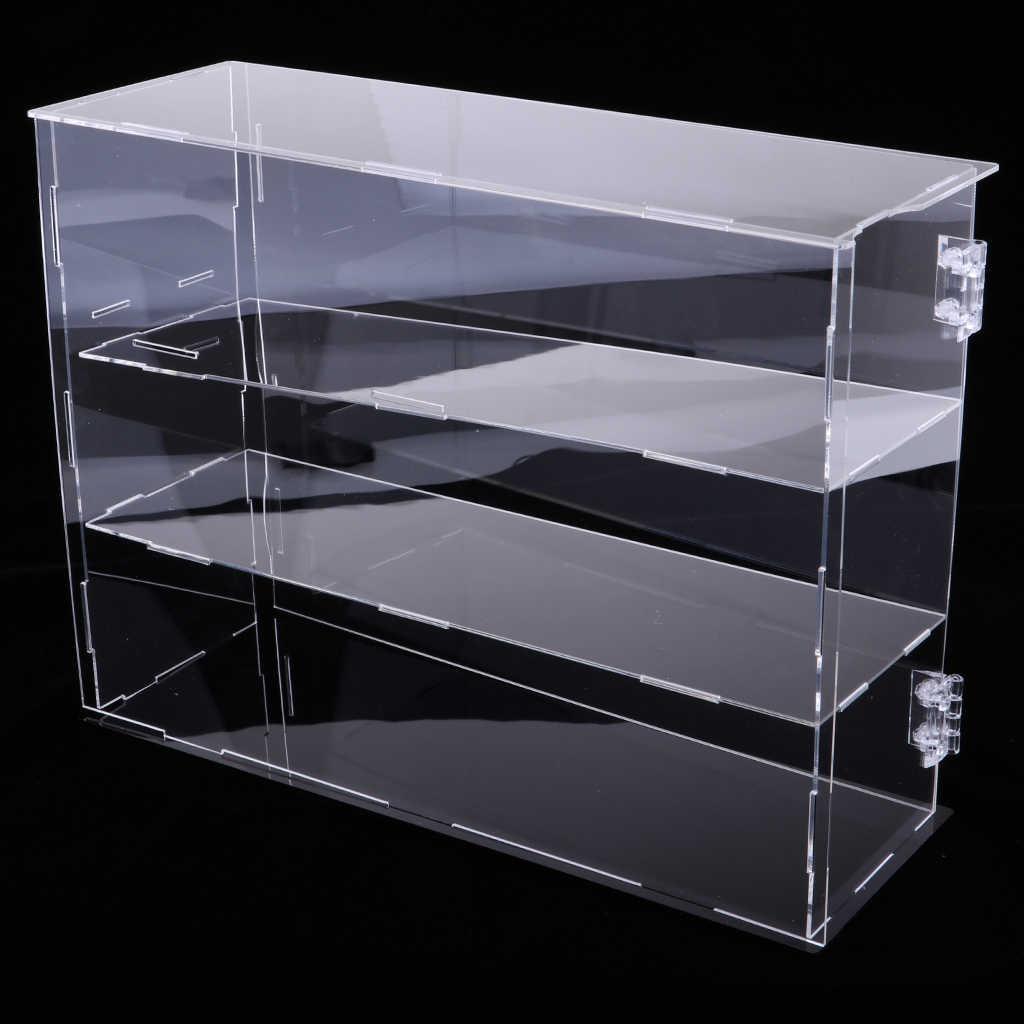 boite de vitrine antipoussiere de vitrine de figurine d action pour 1 6 figurines a collectionner pour la table de comptoirs d armoire