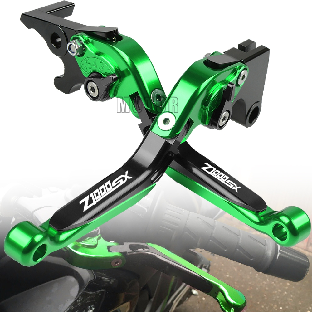 For Kawasaki <font><b>Z1000SX</b></font> Z1000 SX <font><b>2011</b></font> 2012 2013 2014 2015 2016 Motorcycle Adjustable Extendable Folding Pivot Brake Clutch Levers image