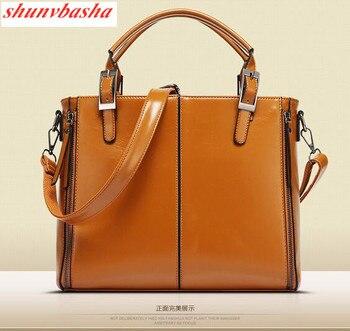 100% Genuine leather Women  handbags 2021 new female killer Bag Shoulder Bag Handbag Single Ladies European leather female bag 1