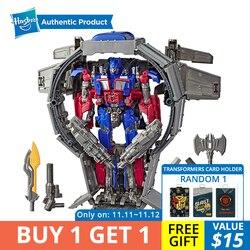 Hasbro Transformers Speelgoed Robot Studio Serie 44 Leader Class Transformers Dark van de Maan movie Optimus Prime Action Figure
