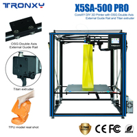 TRONXY X5SA 500 PRO 3d Printer Hot Sale Large Size NEW Upgraded Guide Rall Version Touch Screen 3d Machine Big impressora 3d DIY