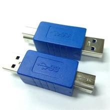 USB 3.0 converter head USB3.0 high speed A male * B connector u AM BM