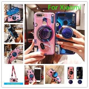 Чехол для Blu-Ray камеры XiaoMi Mi 8 9 se Max 2 3 RedMi 8 8A 7 7A S2 Y2 6 Pro Note 5 6 7 8 Pro K20 Pro с ремешком и кронштейном