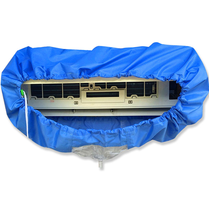Air Conditioner Inside Machine Cleaning Cover Cloth Air Conditioner Parts Waterproof Cover Bag