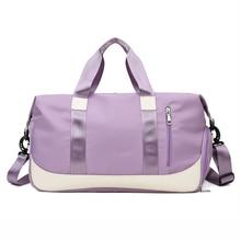 Handbags Shoes Storage Nylon Sac-De-Sport Traveling Fitness Training Waterproof Women