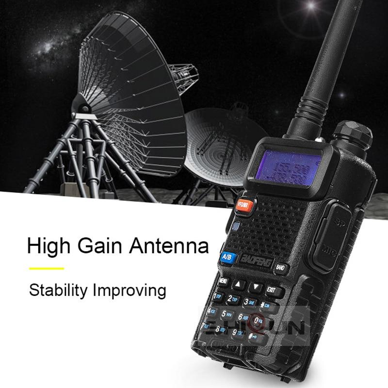 Optional 5W 8W Baofeng UV-5R Walkie Talkie 10 km Baofeng uv5r walkie-talkie hunting Radio uv 5r Baofeng UV-9R UV-82 UV-8HX UV-XR