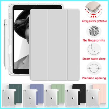 Nowy 2021 M1 Pro 11 pojemnik na ołówki z czterema narożnikami poduszki powietrznej miękkie etui etui do ipada 2020 Air 4 3 2 #8222 mini 5 10 9 #8221 10 5 #8222 10 2 #8217 9 7 #8221 7 9 #8222 cal tanie i dobre opinie YCJOYZW Składane etui 10 2 cala CN (pochodzenie) Stałe 17cm Dla apple ipad ipad pro 11 cali moda for iPad case Odporne na upadki