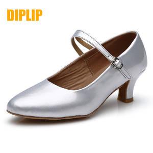 DIPLIP Dance-Shoes Ballroom Latin High-Heeled Girls Standard-Dance Modern Women New