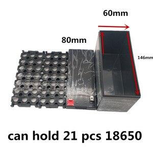 Image 2 - 12V7Ah 8Ah10Ah12Ah استبدال الرصاص الحمضية لحقيبة بطارية ليثيوم رذاذ كهربائي خاص البلاستيك 18650 صندوق تخزين أخضر أسود