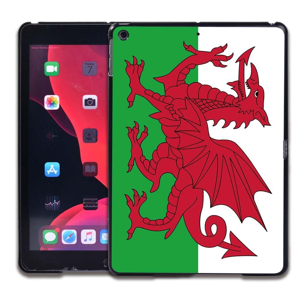 20.Welsh flag Sky Blue Tablet Hard Back for Apple IPad 8 2020 8th Gen 10 2 A2270 A2428 Z2429 Z2430