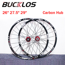 Wheels Disc-Brake Carbon-Hub-Wheel Clincher Bike-Parts 26-BUCKLOS 7-11S QR/TA 29-