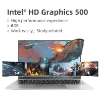 14.1 inch Laptop Intel Celeron J3355 6GB RAM 64GB SSD Computer Windows 10 Untra Thin Laptops All Metal for Student NoteBook 2