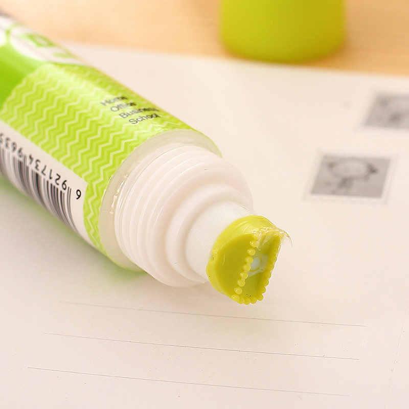 6354 يدوية الصنع الأبيض الغراء المزدوج رئيس DIY اللاصقة 35 مللي طالب الفن السائل الغراء لدراسة القرطاسية اللوازم المكتبية
