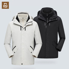 Mid length Travel Jacket Removable Multifunctional Storage Windproof And Waterproof Outdoor Climbing Coat