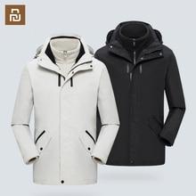 Orta boy seyahat ceket çıkarılabilir çok fonksiyonlu depolama rüzgar geçirmez ve su geçirmez açık tırmanma ceket