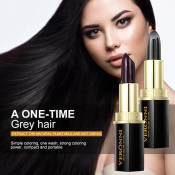 Tymczasowe linii włosów krem do koloryzacji włosów czarny cienkopis ciemny brąz linii włosów cień cienki kolorowy proszek szminka trzymać włosy kolorowe do DIY stylizacji # tanie i dobre opinie CN (pochodzenie) NONE 4 5g 6533241