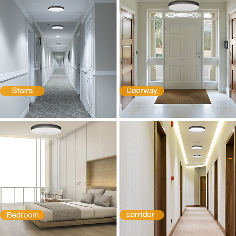 H6762e45fe5054a638e33dea36b6957bcq LED Ceiling Light 220V 12W 18W 20W 50W Modern Ceiling Lamp Lights 110V Surface Mount Lighting Fixture For Living Room Bathroom