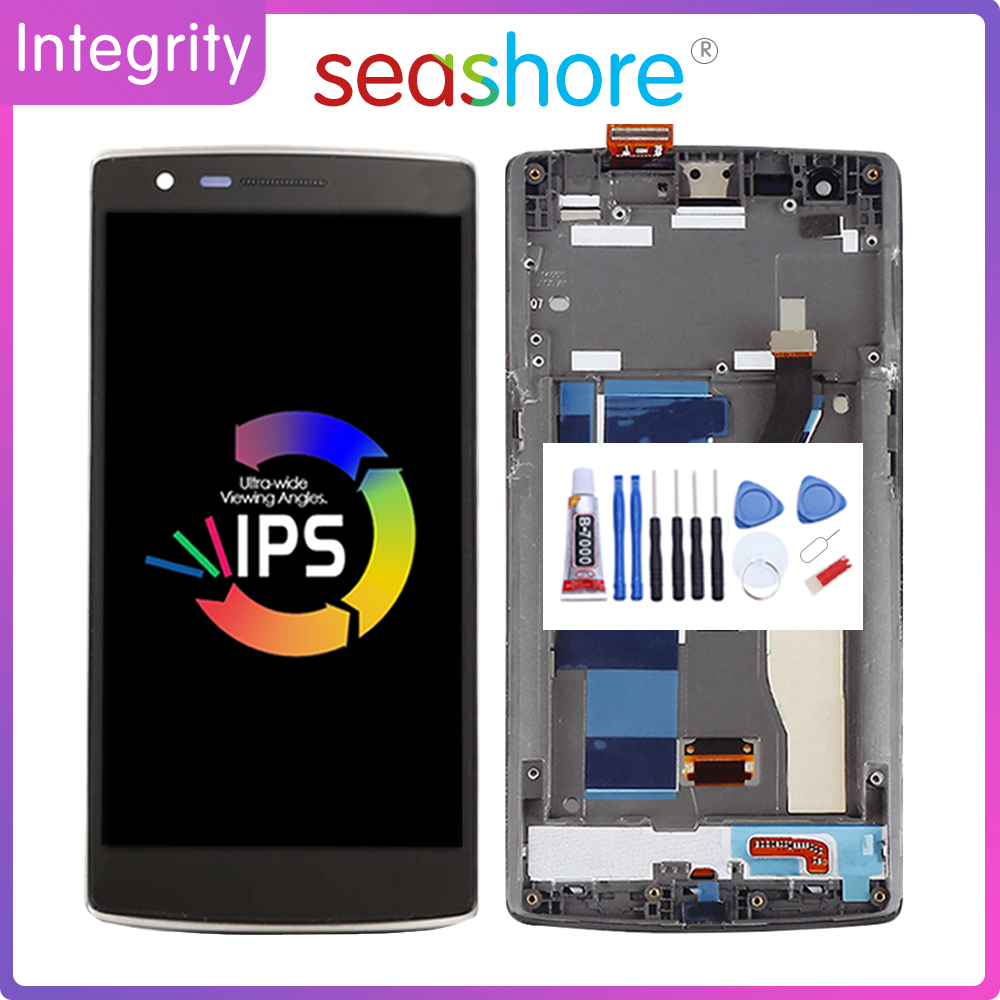 """5.5""""OEM For OnePlus 1 LCD Display Touch Screen Digitizer For OnePLus One Display With Frame Replacement Parts 1+1 A0001 Screen"""