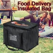 Sac de livraison de nourriture d'épicerie Pizza à emporter Portable grand Restaurant réutilisable isolation thermique boisson transporteur déjeuner pique-nique refroidisseur