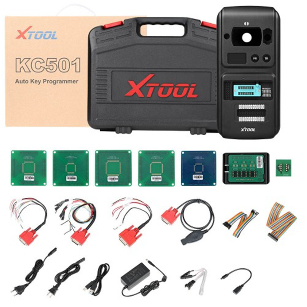 XTOOL KC501 Car Key and Chip Programmer Can Work With X100 PAD3 Key Programmer
