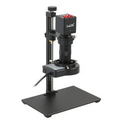 1080P SONY IMX307 HDMI VGA промышленный цифровой видео микроскоп камера + 100X C крепление объектива + подставка для микроскопа для пайки печатных плат