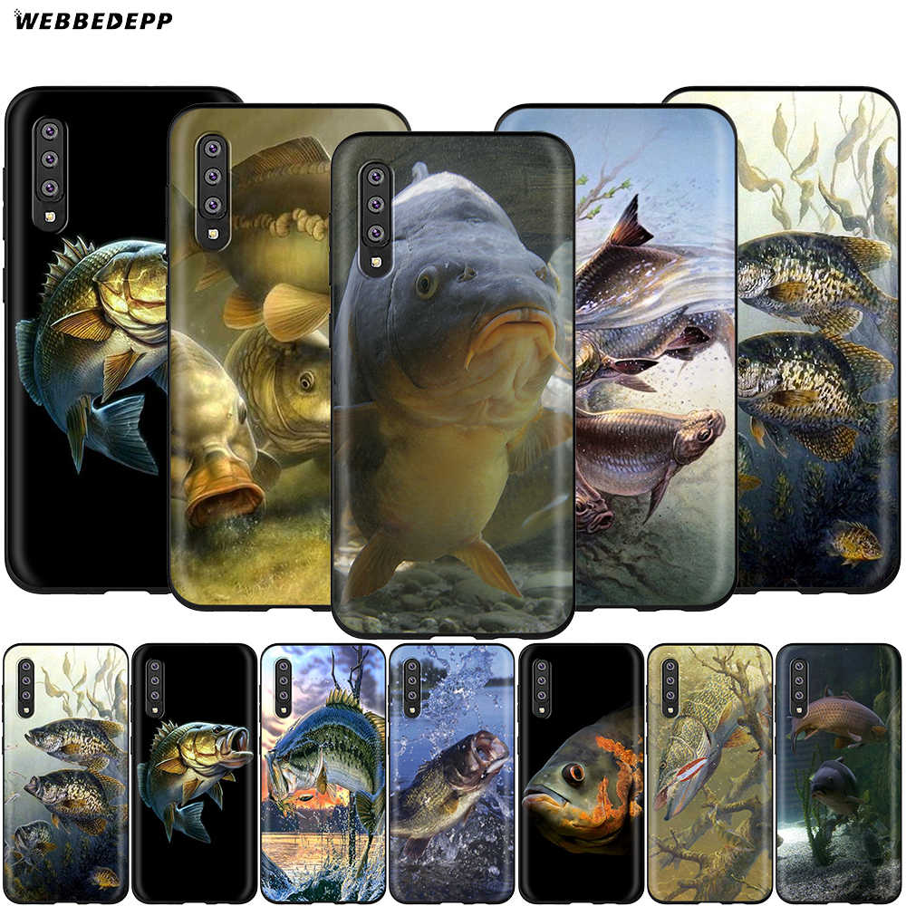 Pesca Da Carpa Webbedepp Case for Samsung Galaxy S7 S8 S9 S10 Plus Nota Borda 10 8 9 A10 A20 A30 A40 A50 A60 A70