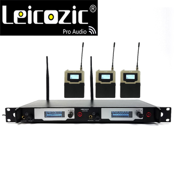 Leicozic In-ear Monitor System On-Stage Monitor System Recording Studio L9400 New SR2050 IEM 3 Receivers wireless stage monitors
