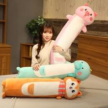 Pillow Dolls Hamster Plush-Toys Unicorn Birthday-Gift Animal-Dinosaur Stuffed Soft Long