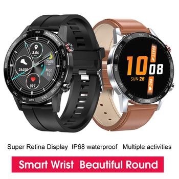 New L5 Update L16 Smart Watch Men IP68 Waterproof Multiple Sports Heart Rate Weather Forecast Fitness Smartwatch VS L13 GT2 2