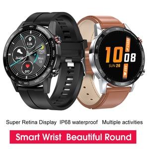 Image 2 - New L5 Update L16 Smart Watch Men IP68 Waterproof Multiple Sports Mode Heart Rate Weather Forecast Bluetooth Smartwatch