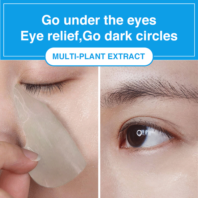 60Pcs Makeup Under Eye Patches Mask Hydrogel Collagen Mask Wrinkles Cosmetics Skin Care Gel Eye Mask Patches Korean Cosmetic Gel 5