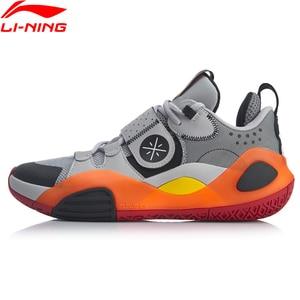 Image 3 - Li ningの男性ウェイドシリーズすべての都市 8 オンコートバスケットボールシューズライニング李寧スポーツシューズスニーカーABPQ005 XYL303