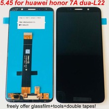 2018 novo 5.45 polegada lcd original para huawei honor 7a dua l22 DUA LX2 display lcd tela de toque digitador assembléia frete grátis