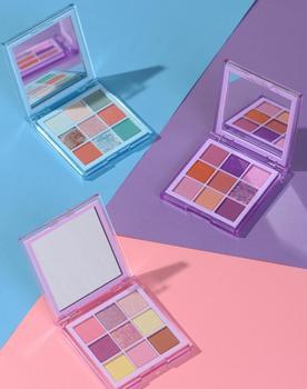 2020 New Fashion Summer eyeshadow palette 9 Color Matte EyeShadow  Glitter eye shadow MakeUp Shimmer and  Diamond Eye  Cosmetics