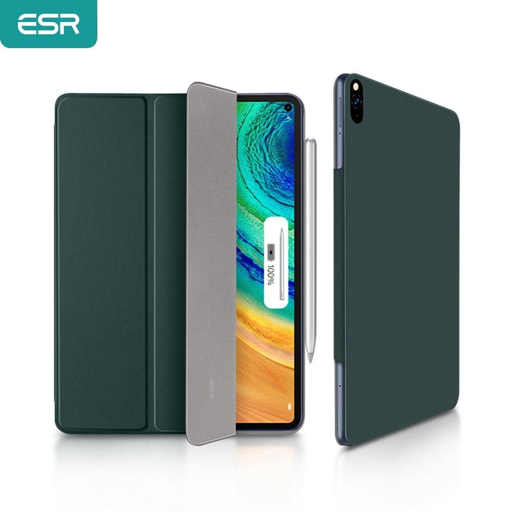 ESR Tablet крышка для 2020 Huawei MatePad Pro 10,8 ''дюйма безопасный с магнитом с автоматическим включением и Sleep чехол шелковисто-гладкой противоударный че...