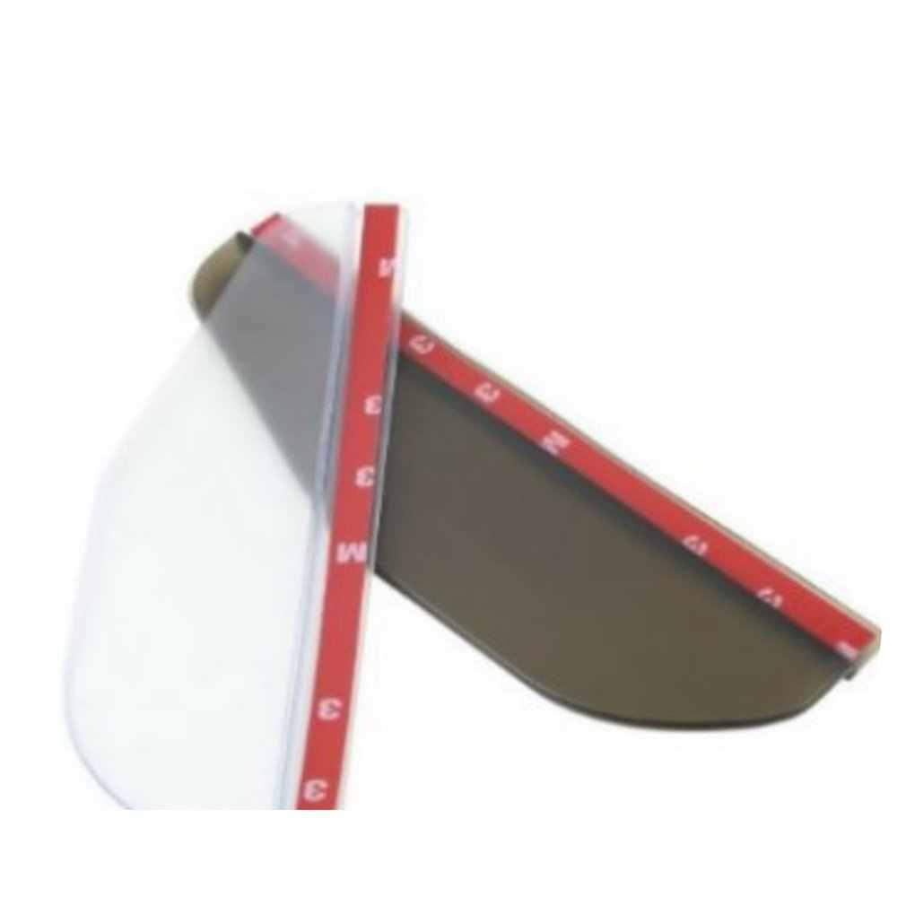 2 sztuk/zestaw osłona przeciwdeszczowa na lusterka wsteczne elastyczne guma lusterko wsteczne z daszkiem przeciwdeszczowym strażnik wody prysznic blokowanie pokrywa przyciemniana osłona przeciwsłoneczna