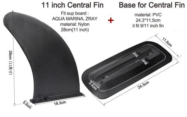 2pcs Surf Water Wave Fin Surfboard Fins PVC Stablizer Water Slice Side Fin JF