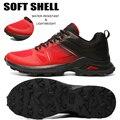 Мужские кроссовки для бега по пересеченной местности, негабаритные водоотталкивающие легкие походные туфли, дышащие кроссовки для бега на ...