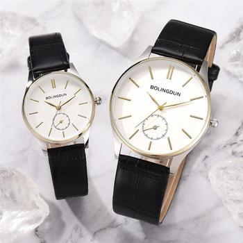 Lovers Wristwatches Minimalist Fine Shell High Quality Fashion Quartz Watches Men Women Leather Clock Simple Watch Reloj Mujer fashion casual watches men women couple watch leather strap quartz wristwatches fashion lovers watches reloj mujer reloj hombre