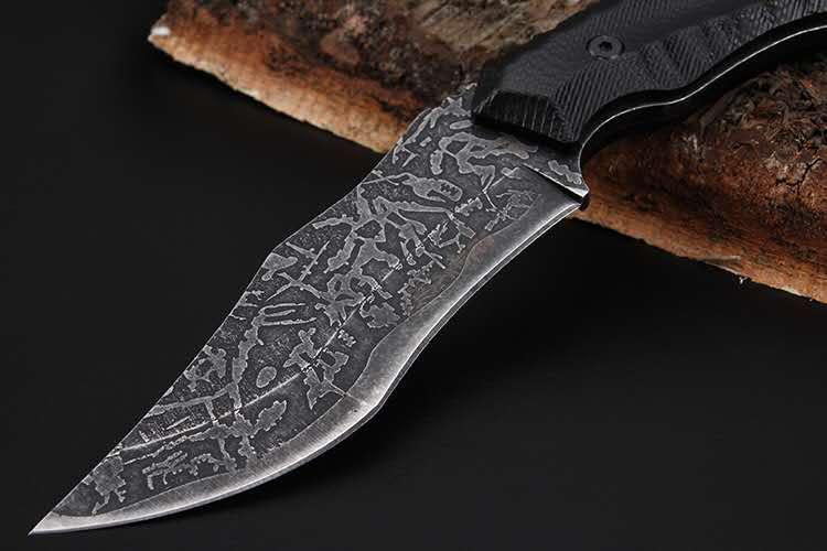 MuddyHunting Combat Knife 4