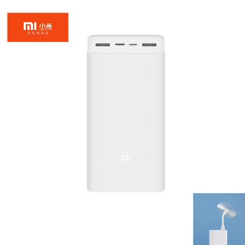 Original Xiaomi Power Bank 3 30000mAh Quick Charge Version High capacity Intelligent fast charge for 10 days