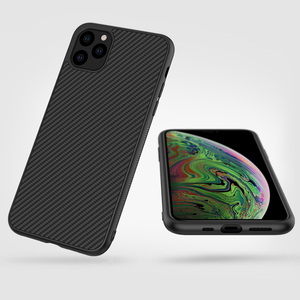 Image 2 - Case for iPhone 11 Pro Nillkin Synthetic Fiber Carbon PC Back Cover Ultrathin Slim Phone Case for iPhone 11 Pro Max 6.1/6.5 inch