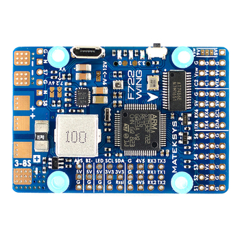 Free Shipping Matek Systems F722-WING STM32F722RET6 Flight Controller Built-in OSD For RC Airplane Fixed Wing RC Models