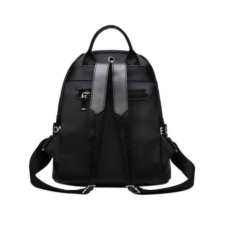 新ファッション女性レディースガールズバックパックオックスフォード布防水リュックサックレディースガールズジッパーソフトカジュアルバックパック