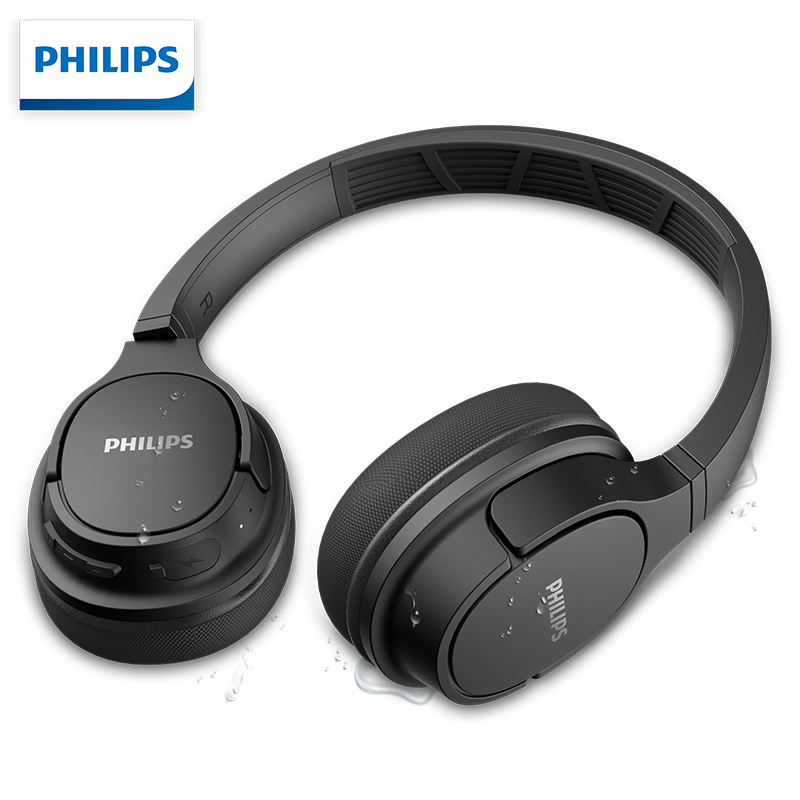 Original Philips Sh402 Wireless Sports Headset Bluetooth 5 0 With Mic Headphone For Samsung Huawei Xiaomi Support Official Test Bluetooth Earphones Headphones Aliexpress