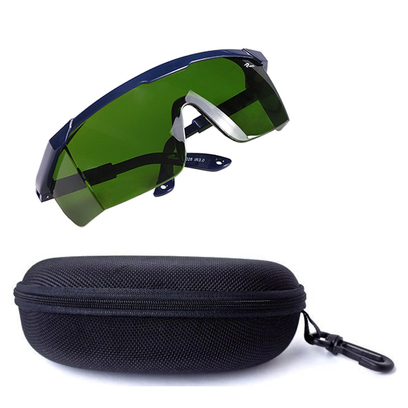 Professional LED Grow Light Glasses UV Polarizing Goggles For Grow Tent Greenhouse Hydroponics Plant Light Eye Protect Glasses